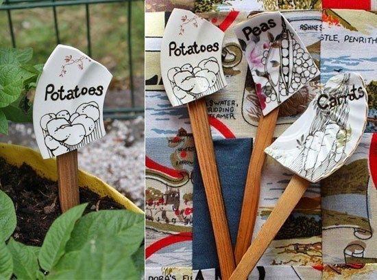 Таблички для растений (14)