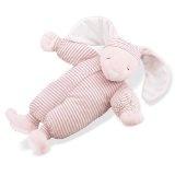 North American Bear Company Sleepyhead Bunny Pink, Pink Stripe, Large