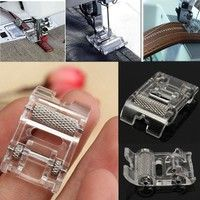 Wish | 1Pcs Low Shank Roller Presser Foot For Singer Brother Janome JUKI Sewing Machine