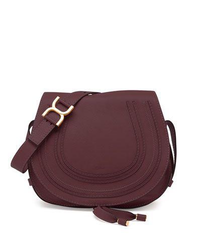 chloe bag - V2H6W Chloe Marcie Medium Crossbody Satchel Bag, Bordeaux | Bags ...