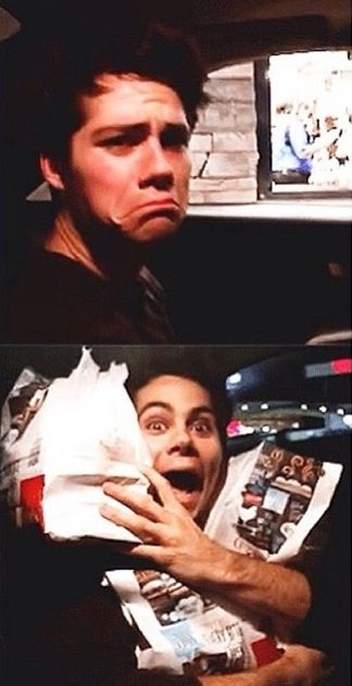 Dylan O'Brien and I are the same person. It's meant to be
