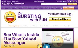 Need to Download Yahoo Instant Messenger 11? Here's How: Navigate to the Yahoo Messenger Website