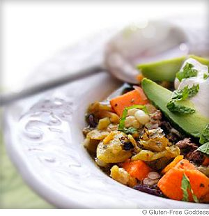 Roated Hatch Chile Stew With Sweet Potato, Corn and Lime