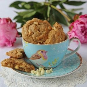 White chocolate and cardamom cookies - lovely cookie website