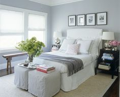 I like the white on windows; it nicely reflects the natural light and brightens the room.
