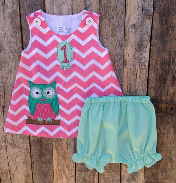 Hey, I found this really awesome Etsy listing at https://www.etsy.com/listing/198772813/owlivia-the-owl-first-birthday-dress-and