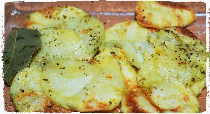 Porque me gusta lo fácil: Patatas a lo pobre (en micro)