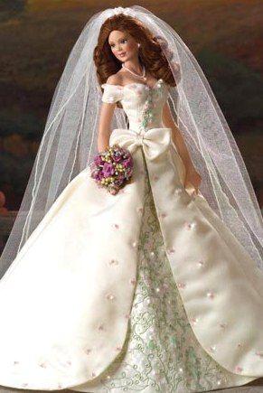 Country Church of Sonoma Bride Doll Ashton Drake - Bradford Exchange Doll