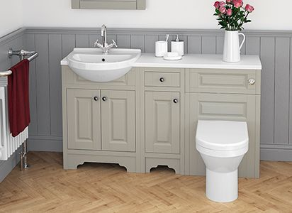 Atlanta's Traditional Bathroom Furniture - If you're looking for a more traditional bathroom furniture style, why not try Atlanta's Classic range? By choosing a more traditional design, it means your bathroom will have timeless style and won't go out of trend. Here are a few of the reasons sometimes you've got to go Classic!