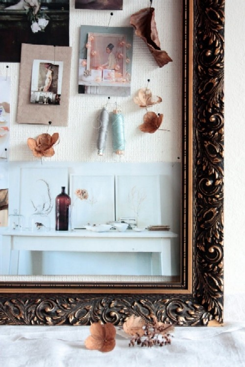 Framed Fabric Pinboard From 8 Ideas To Spruce Up Your Space Find This Pin And More On Interior Design Mood Boards