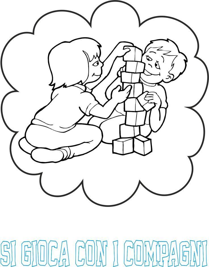 regole a scuola infanzia colorate - Cerca con Google