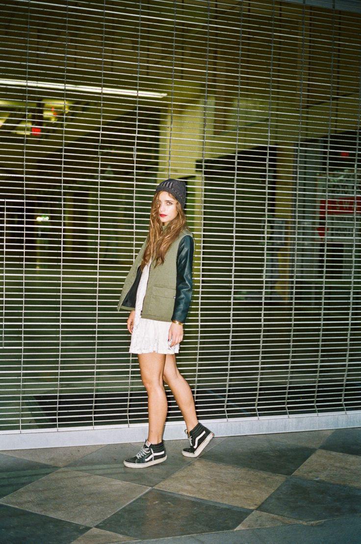 Vans Old Skool High Outfit