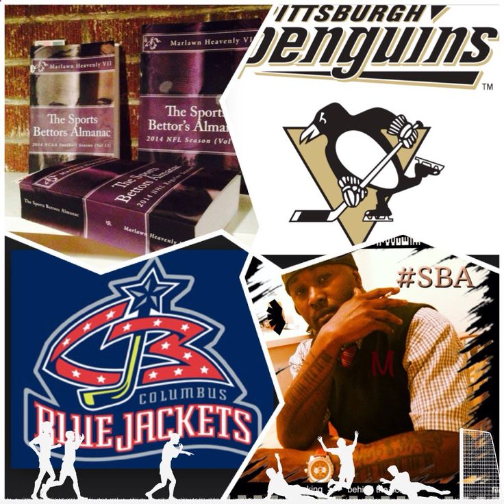 12-13/14 NHL sports bettors almanac update #Pittsburgh #Penguins vs #Columbus #BlueJackets (Take: Penguins-113,Under 5.5 goals) SPORTS BETTING ADVICE On 99% of regular season games ATS including Over/Under The Sports Bettors Almanac available at www.Amazon.com TIPS ARE WELCOME : PayPal - SportyNerd@ymail.com Marlawn Heavenly VII #NFL #MLB #NHL #NBA #NCAAB #NCAAF #LasVegas #Football #Basketball #Baseball #Hockey #SBA #401k #Business #Entrepreneur #Investing #Tech #Dj #