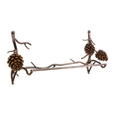 Best Of Pine Cone towel Bar