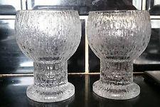 vintage kosta boda wine glasses | Vintage Timo Sarpaneva 'Kekkerit' 11cm Wine Glass x 2 Iittala Finland ...