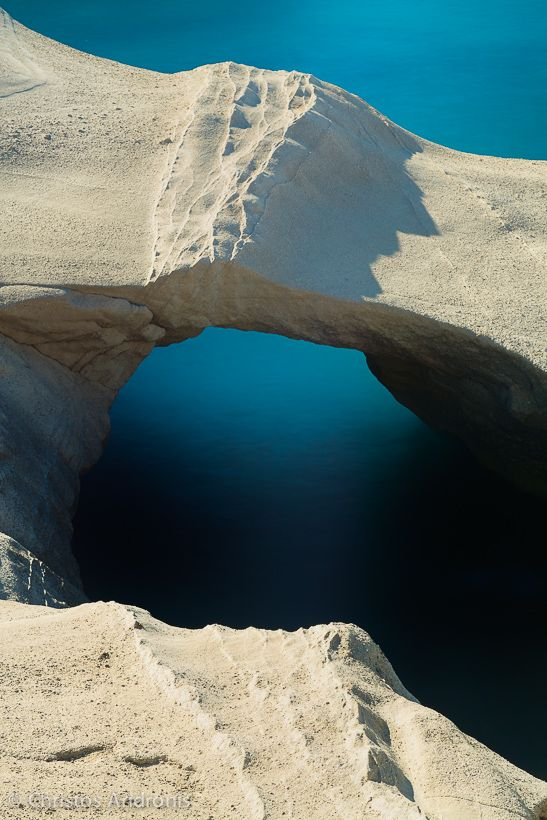 Rock formations at Milos island, Cyclades . Photo by Christos Andronis