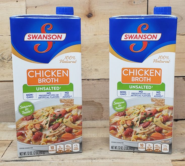 Swanson's Unsalted Chicken Broth - 32oz | Chicken broth ...