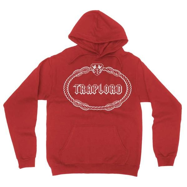 Red Classic Traplord Hoodie | ASAP Ferg | Trap Lord
