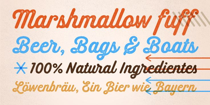Melts Script Rough available at Myfonts