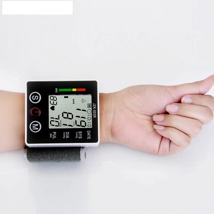 Health Care Wrist Digital Blood Pressure Monitor | Blood ...
