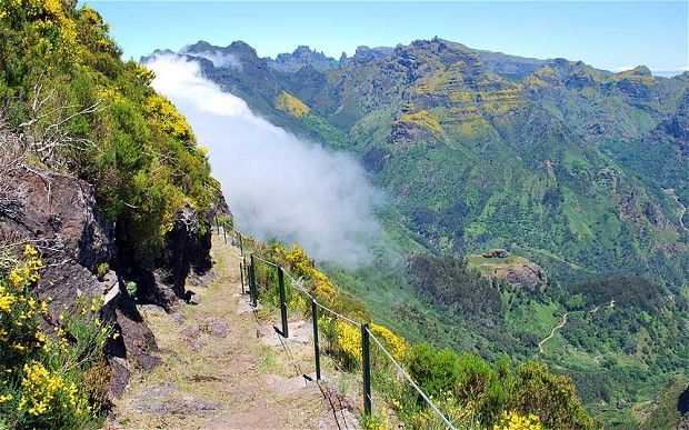Madeira: Walking on the wild side Via The Telegraph | 24/03/2013 This tiny Atlantic island is perfect for a father-and-daughter adventure, says John Gimlette. #Portugal