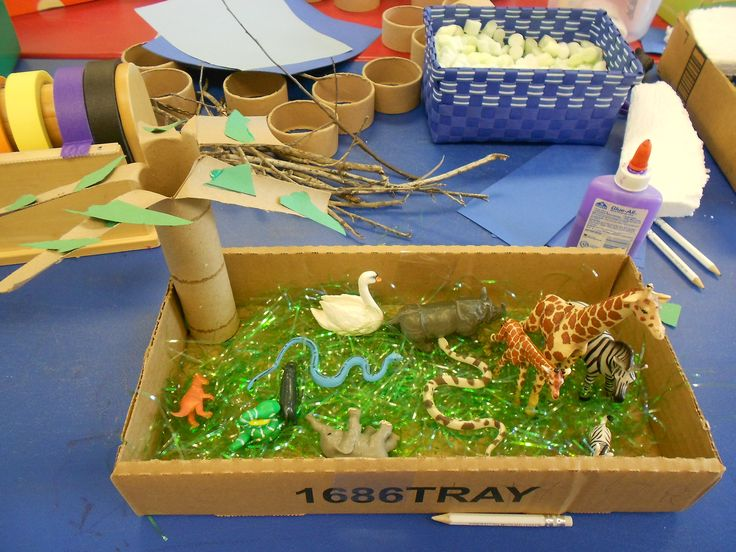 Kitchen Diorama Made Of Cereal Box: 7 Best Habitat Project Images On Pinterest