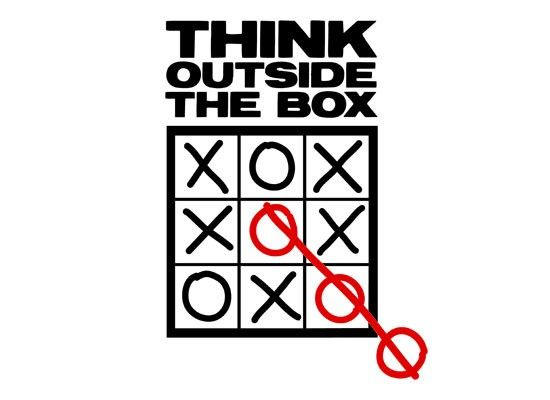 Think Outside The Box T-Shirt | SnorgTees