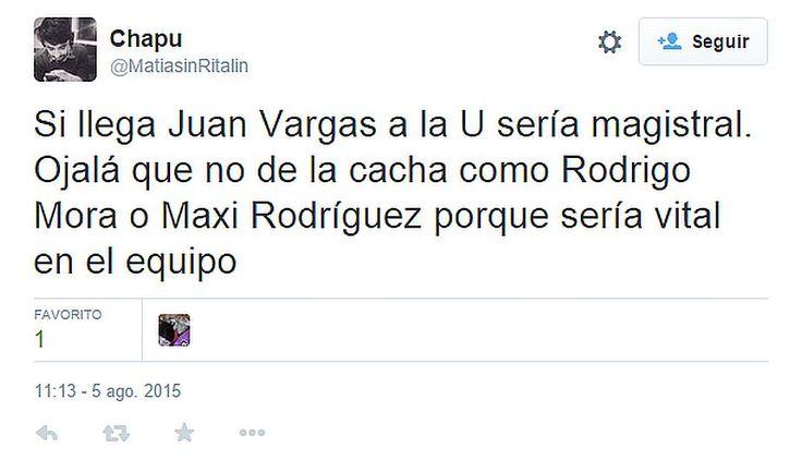 Juan Vargas y los hinchas de Universidad de Chile que 'alucinaron' su fichaje (FOTOS)