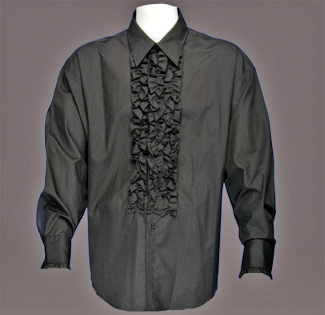 1000 images about flowy men shirt on pinterest tux for Red ruffled tuxedo shirt