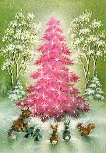 Best 25 Vintage Pink Christmas Ideas On Pinterest Xmas