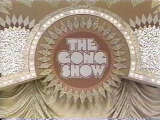 The Gong Show is an amateur talent contest franchised by Sony Pictures Television to many countries. It was broadcast on NBC's daytime schedule from June 14, 1976, through July 21, 1978, and in first-run syndication from 1976 to 1980 and 1988 to 1989. The show was produced by Chuck Barris, who also served as host for the NBC run and from 1977 to 1980 in syndication. The show is best remembered for its absurdity humor and style, often awarding participants ridiculous and worthless prizes.