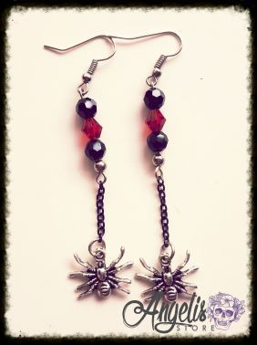Spider and Bead Dangle
