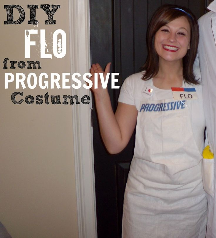 66 best halloween costumes adults images on pinterest adult diy flo from progressive halloween costume tutorial adult halloween costume solutioingenieria Gallery