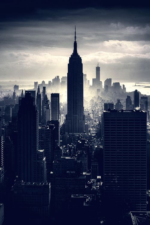 The Empire State Building, Manhattan, New York City