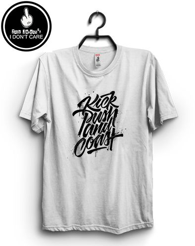 Zack Jordan T-shirt. Typhograff