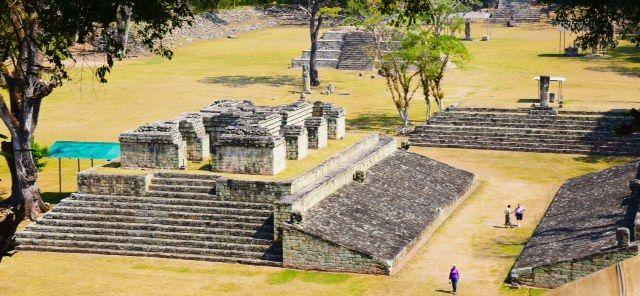 Copan's Maya Ruins in Honduras