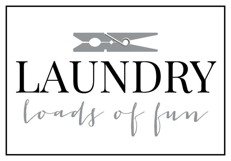 Laundry Room Decor Cricut