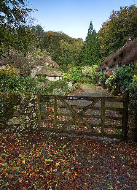 Buckland in the Moor, Devon, England