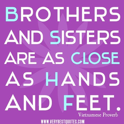 Brother and Sister Quotes Siblings   quotes-pictures.feedio...Brothers and sisters