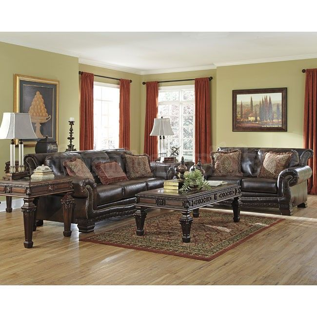 Ledelle DuraBlend Antique Living Room Set Part 80