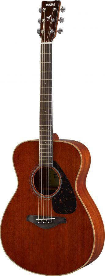 Yamaha FS850 Natural acoustic guitar Launched at NAMM 2016