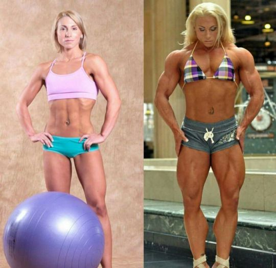 Muscle Ladies Bodybuilding Bodybuilders Before And After
