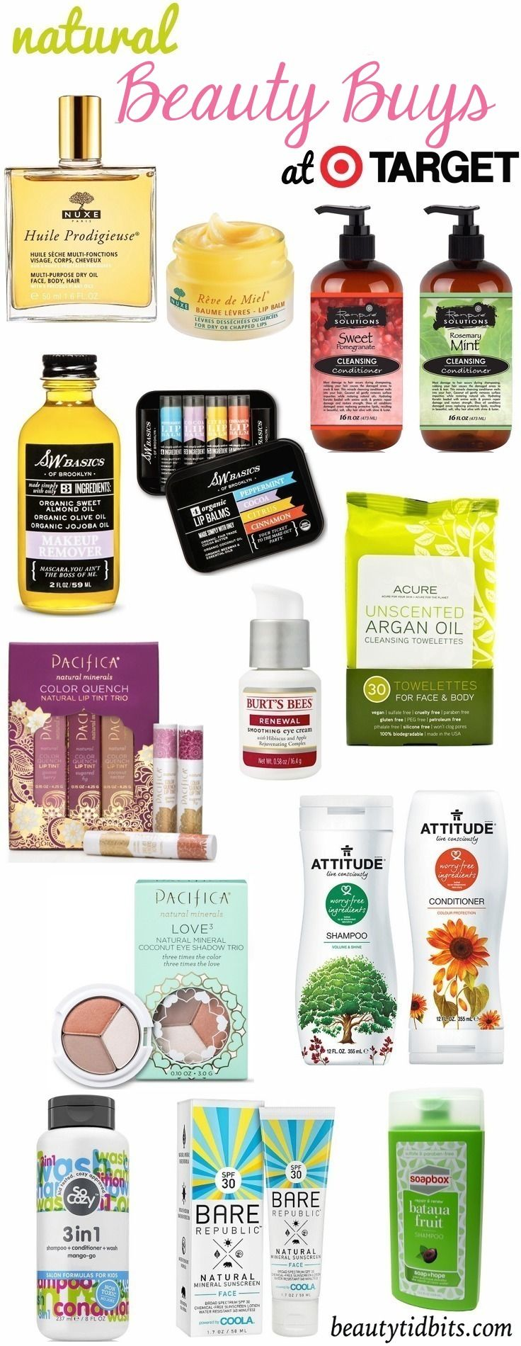 Natural Beauty Products at Target
