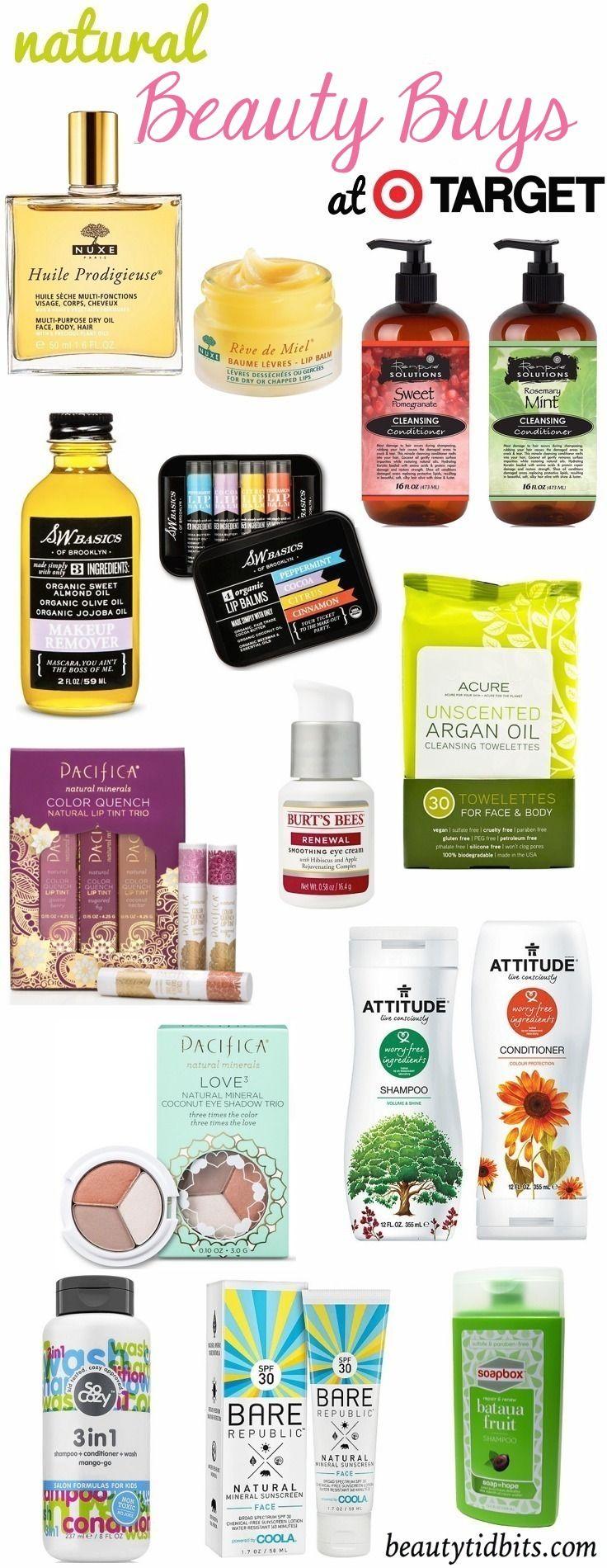 Natural Beauty Products at Target