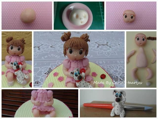 Tutorial -little girl Jasmijn - CakesDecor