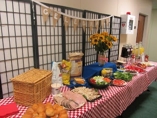 Picnic Themed End of the Year Luncheon