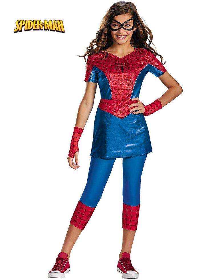 Girl's Spider-Girl Tween Costume! See more #costume ideas for Halloween and more at CostumeSuperCenter.com
