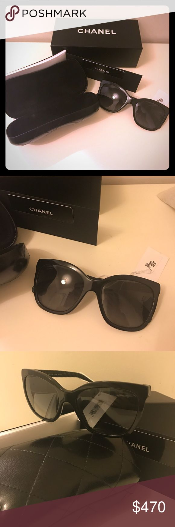 CHANEL sunglasses - NOT FOR SALE Chanel butterfly sunglasses CHANEL Accessories Sunglasses