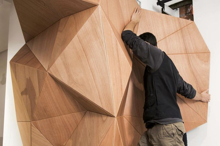 Iuter store on Domusweb!  #materials #freeform #organic #parametric #wood #flexible #design #innovation #digital #architecture #cladding #startup