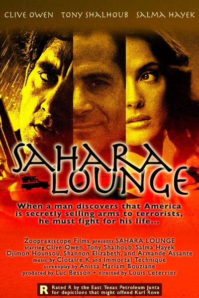 Selma Hayek acts in Sahara Lounge